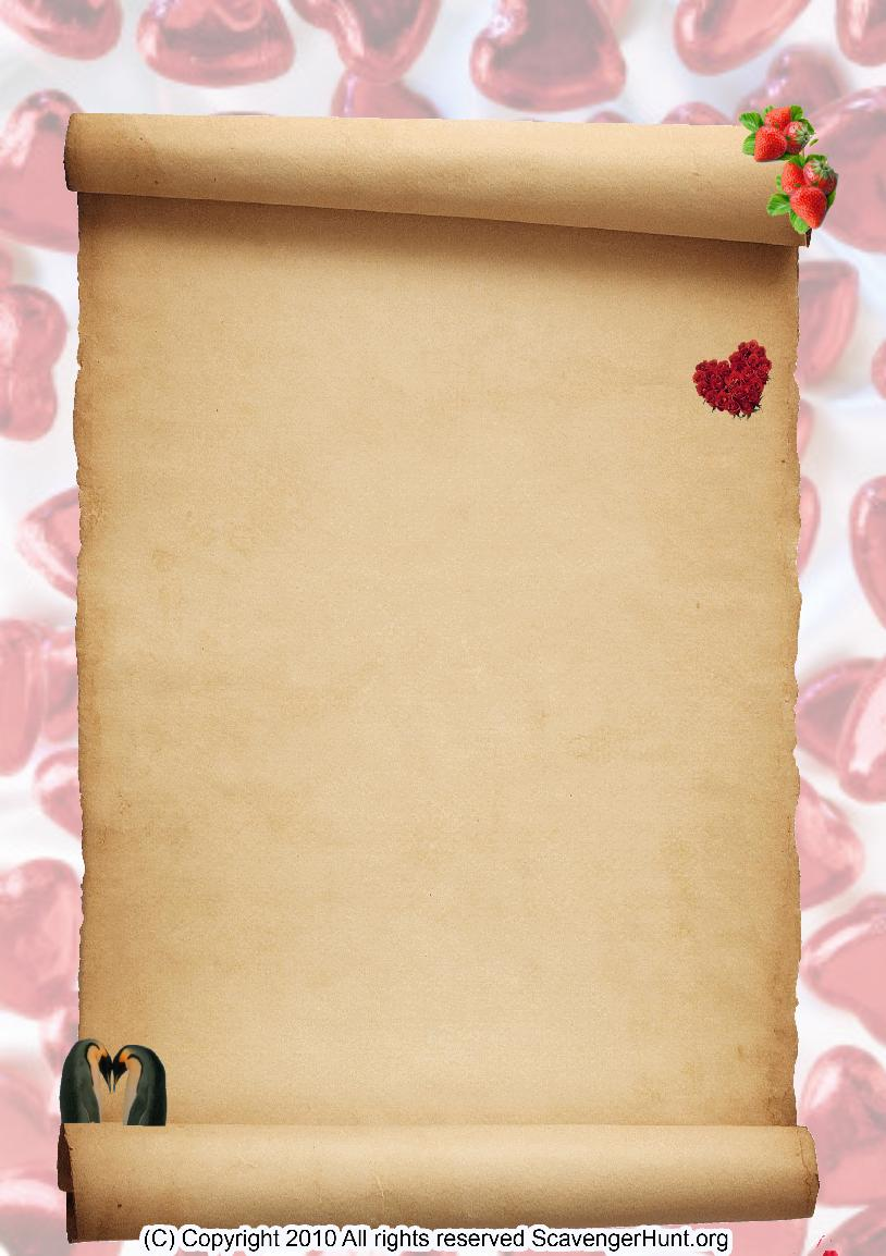 valentines1 scavenger hunt background