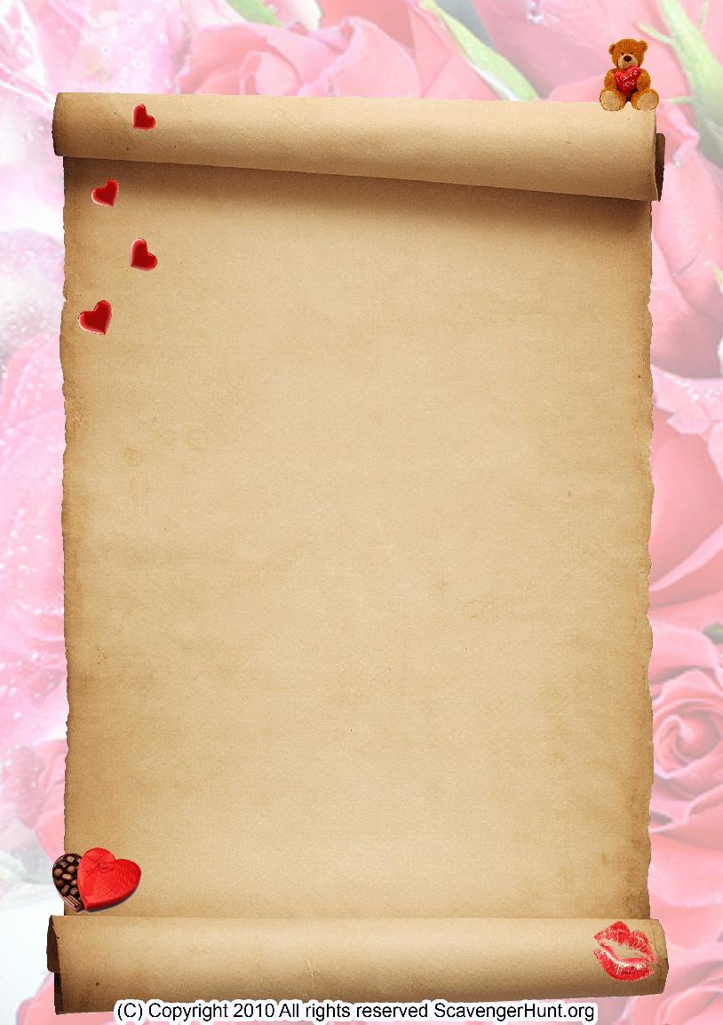 valentines2 scavenger hunt background